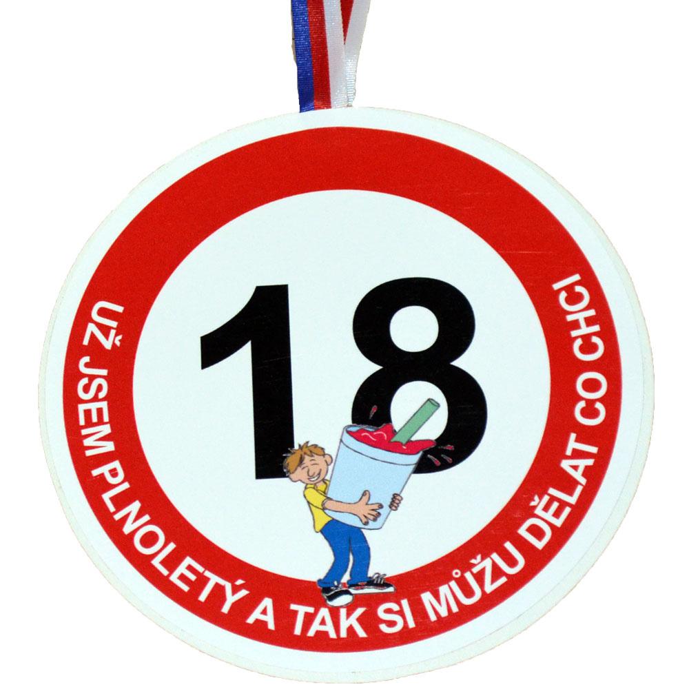 co klukovi k 18 narozeninám Medaile k 18. narozeninám pro muže co klukovi k 18 narozeninám