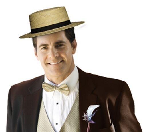 5d028982b Slaměný klobouk - Slamák - Lou Bandy