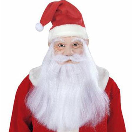 Maska latex Santa Claus/Mikuláš