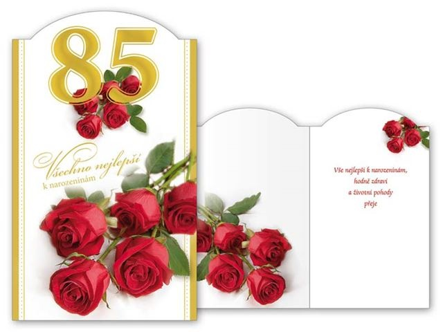 přání k 85 narozeninám Přání k 85. narozeninám   Všechno nejlepší přání k 85 narozeninám