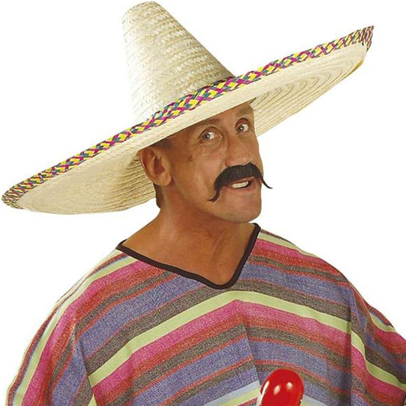 488b7be5d Mexické sombréro - klobouk průměr 65 cm