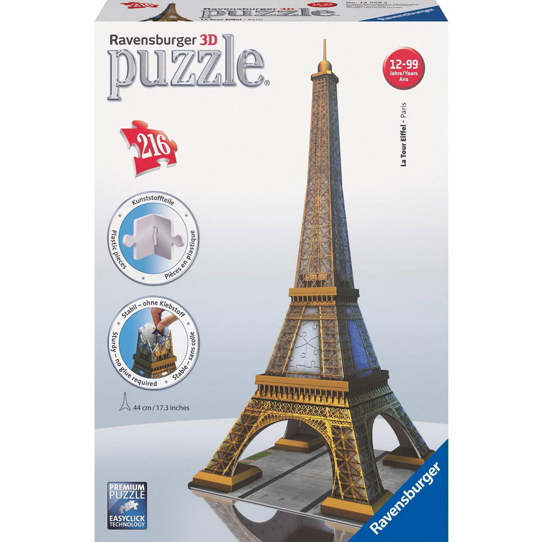 3D puzzle - Eiffelova věž 216 dílků