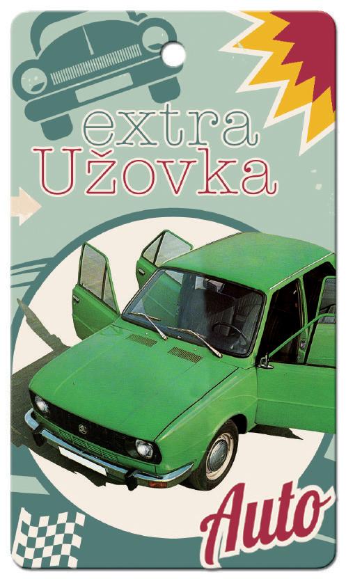 Vůně do auta - retro Škoda