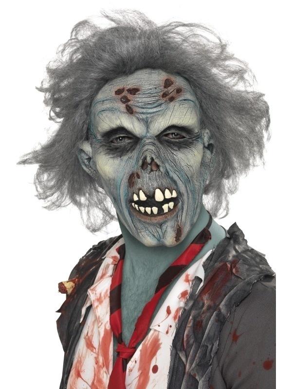 Maska - Zombie s vlasy