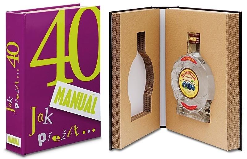 Léčivá kniha - Dárek k 40. narozeninám - Manuál