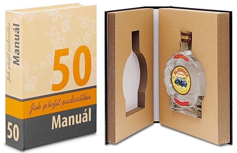 Léčivá kniha - Dárek k 50. narozeninám - Manuál