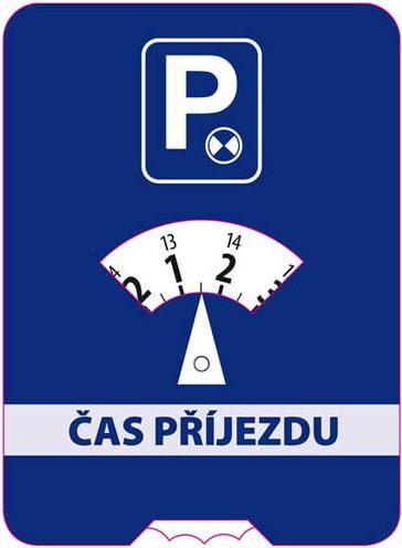 Parkovací hodiny do auta