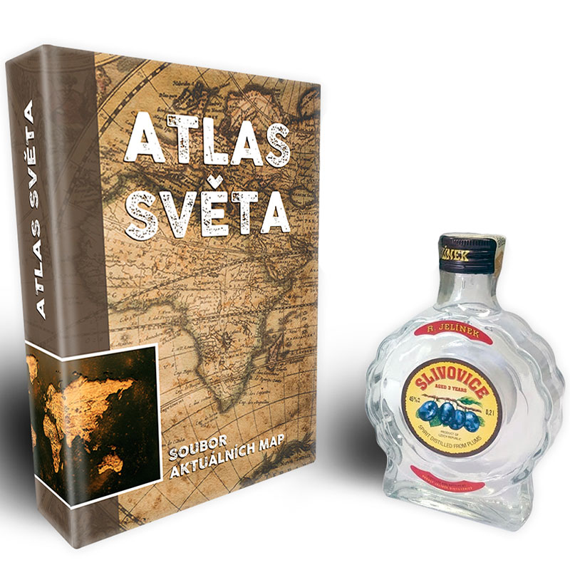 Atlas světa - Překvapení uvnitř knihy