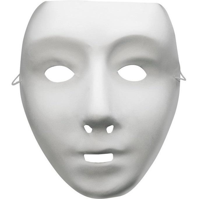 bdcbe2cc84e Bílá maska