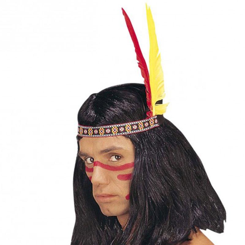94b5a28b610 Čelenka - Indián - 2 péra