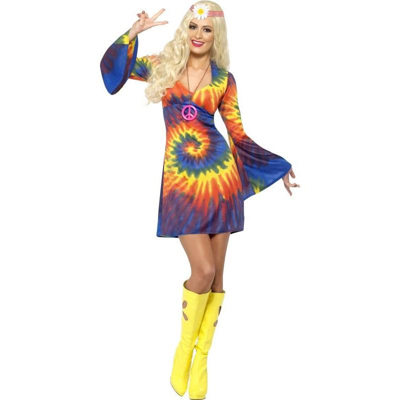 32f18be72c03 Dámské hippies šaty