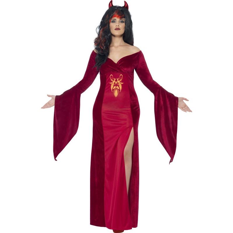 570b0c0b1823 Dámský karnevalový kostým - Šaty čertice
