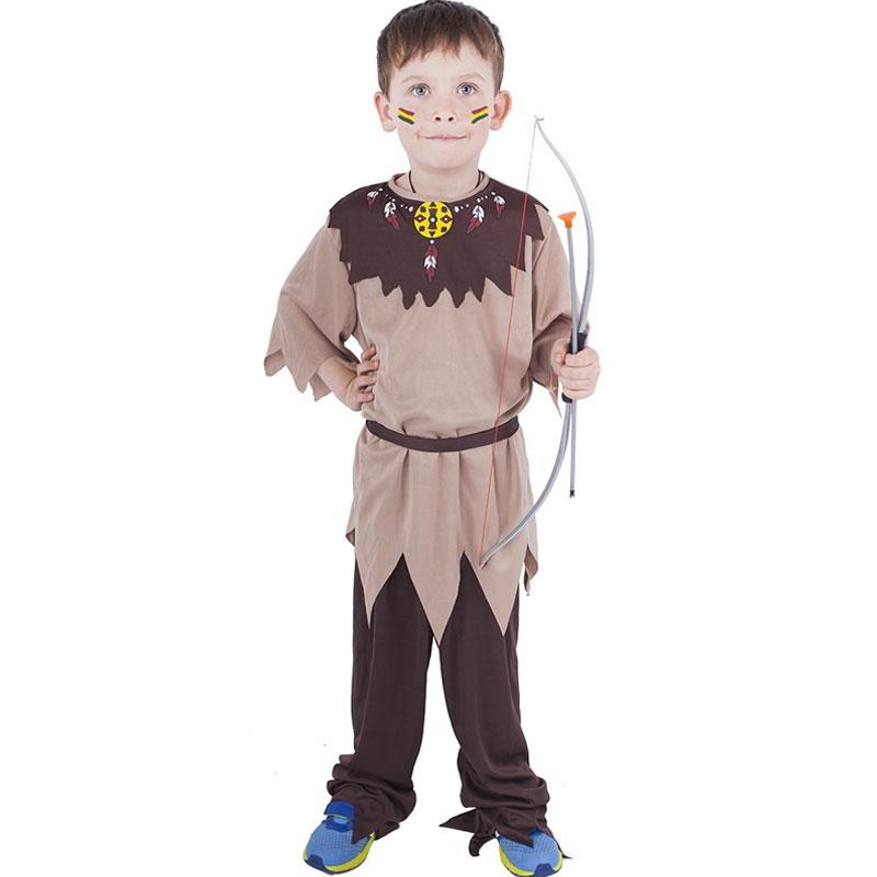 Dětský indiánský kostým s páskem 6-8 let