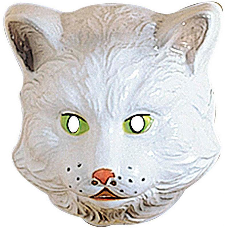 Dětská plastová maska - Kočka