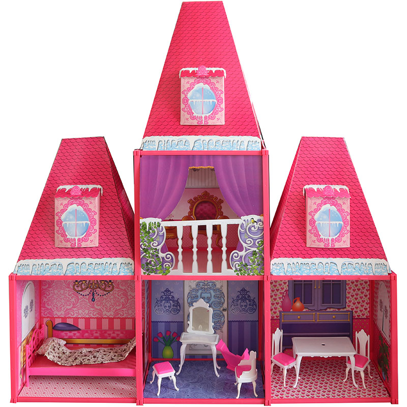 Velký domeček pro panenky 106 cm