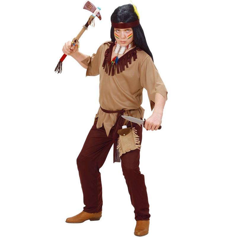 Dětský kostým na maškarní - Indián 11-13 let Widmann