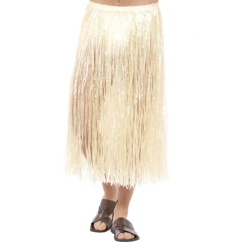 Havajská sukně - přírodní vzhled - dlouhá Smiffys