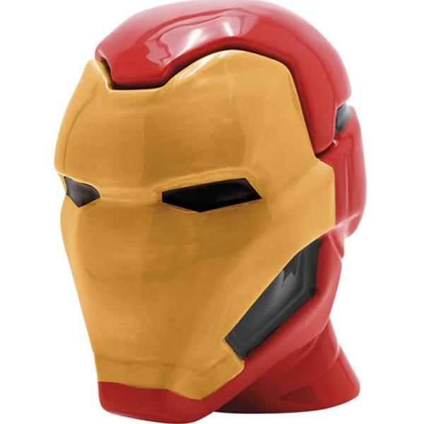 Hrnek Iron Man 3D měnící se 450 ml