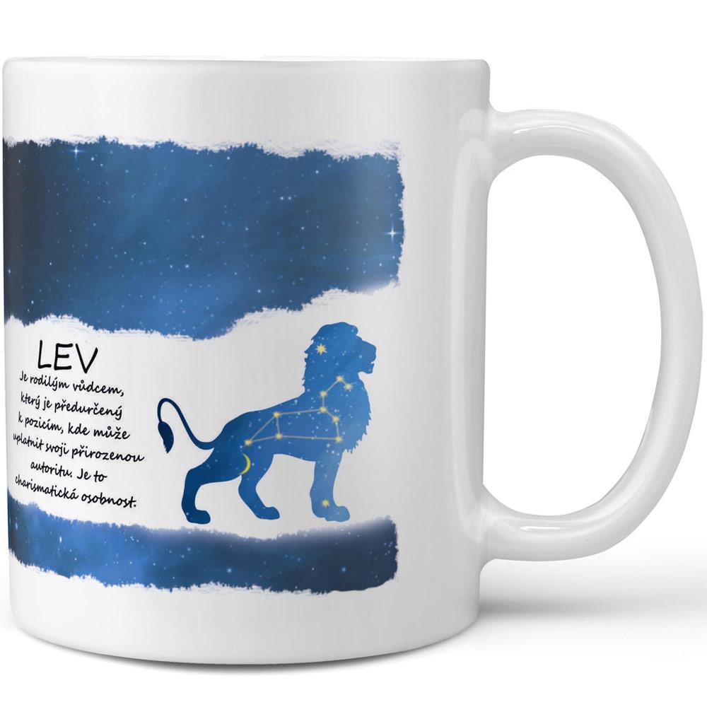 Hrnek Lev - modrý