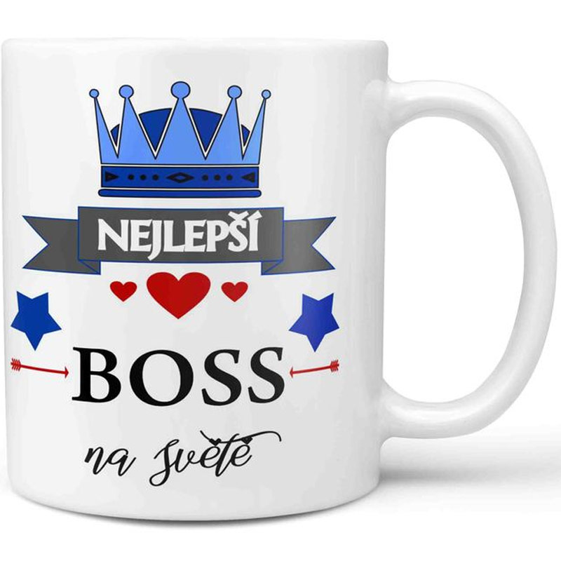 Hrnek - Nejlepší boss na světě