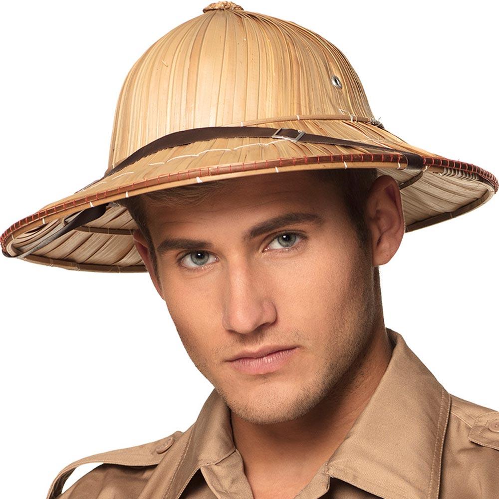 Slaměný klobouk Cestovatel - přirozený vzhled Boland