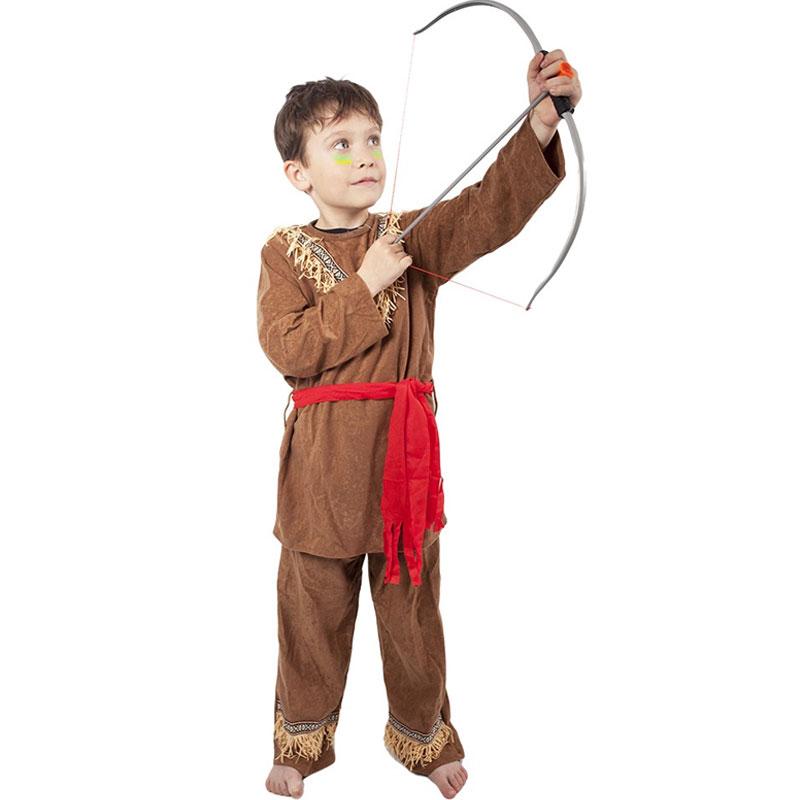 Dětský kostým - Indián s šátkem 6-8 let Rappa