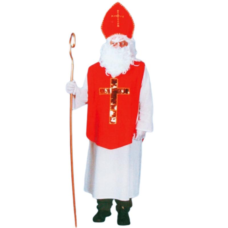 Kostým Mikuláše (plný kříž na hrudi) vel. M-L (52/56)
