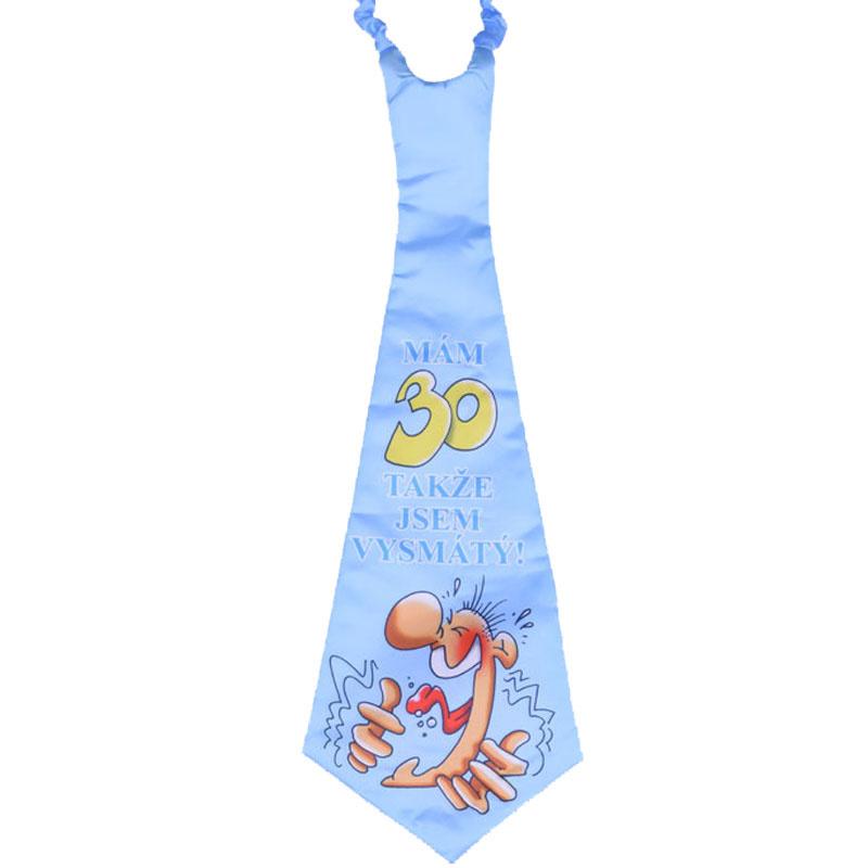 Narozeninová kravata ke třicítce e3206a91db