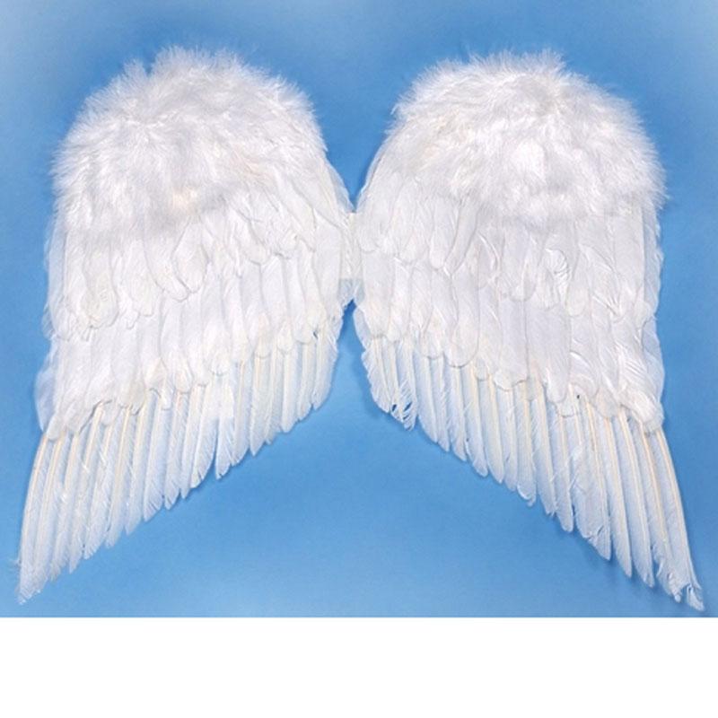 Křídla - Andělská - péřová cca 50 x 45 cm