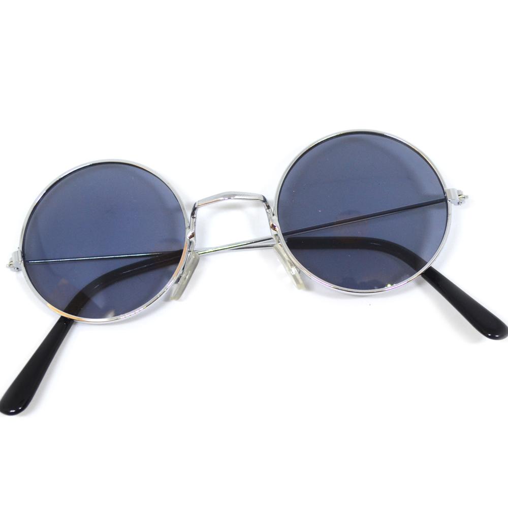 260c96a1dcd Hippies party brýle - lenonky černá skla