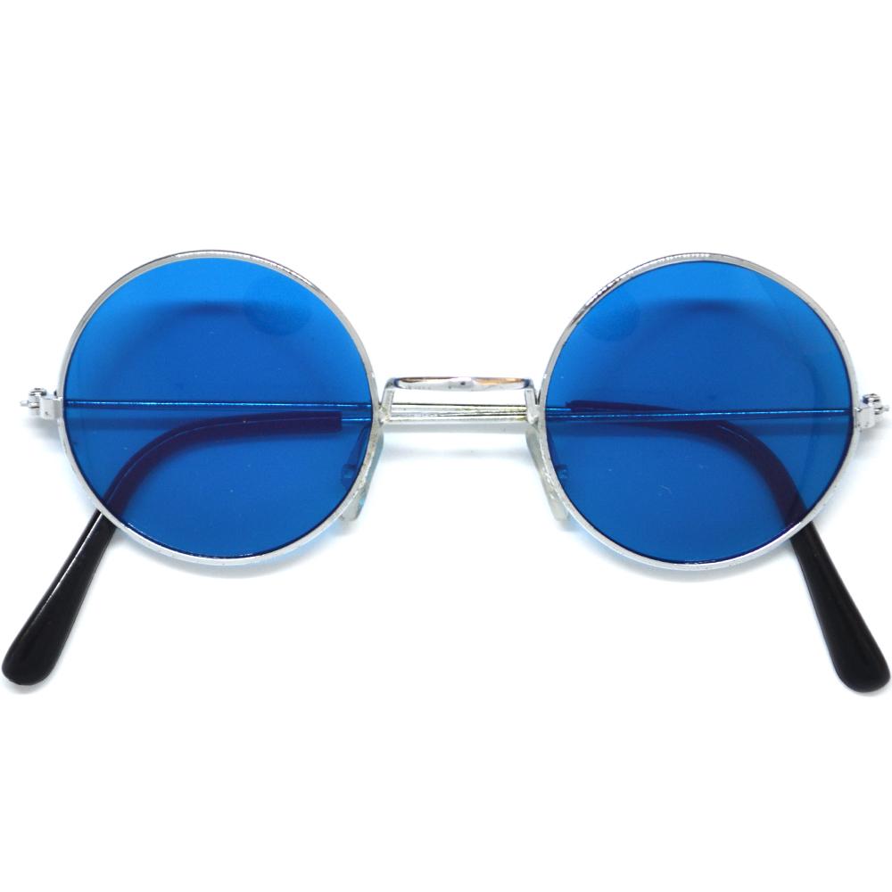 a6a149efb76 Hippies party brýle - lenonky modrá skla