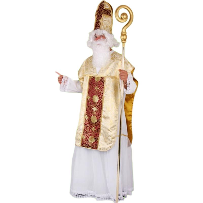 Luxusní mikulášský kostým pro dospělé vel. M-L (52/56)