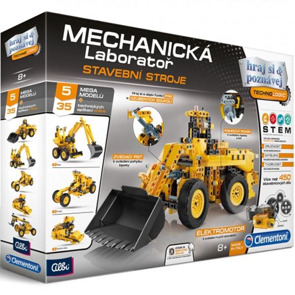 Mechanická laboratoř - Stavební stroje ALBI