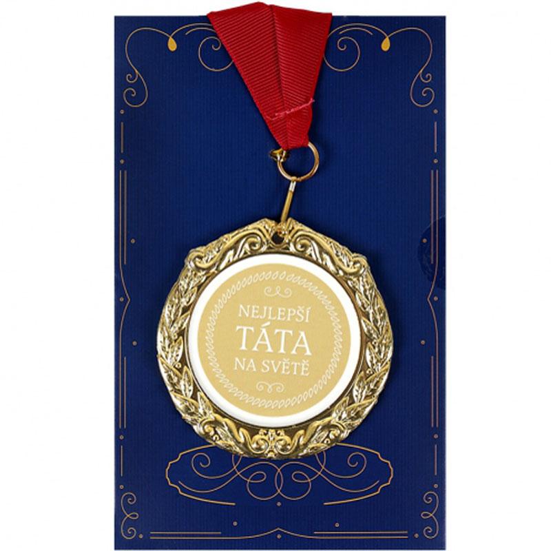 Medaile s přáním - Nejlepší táta na světě