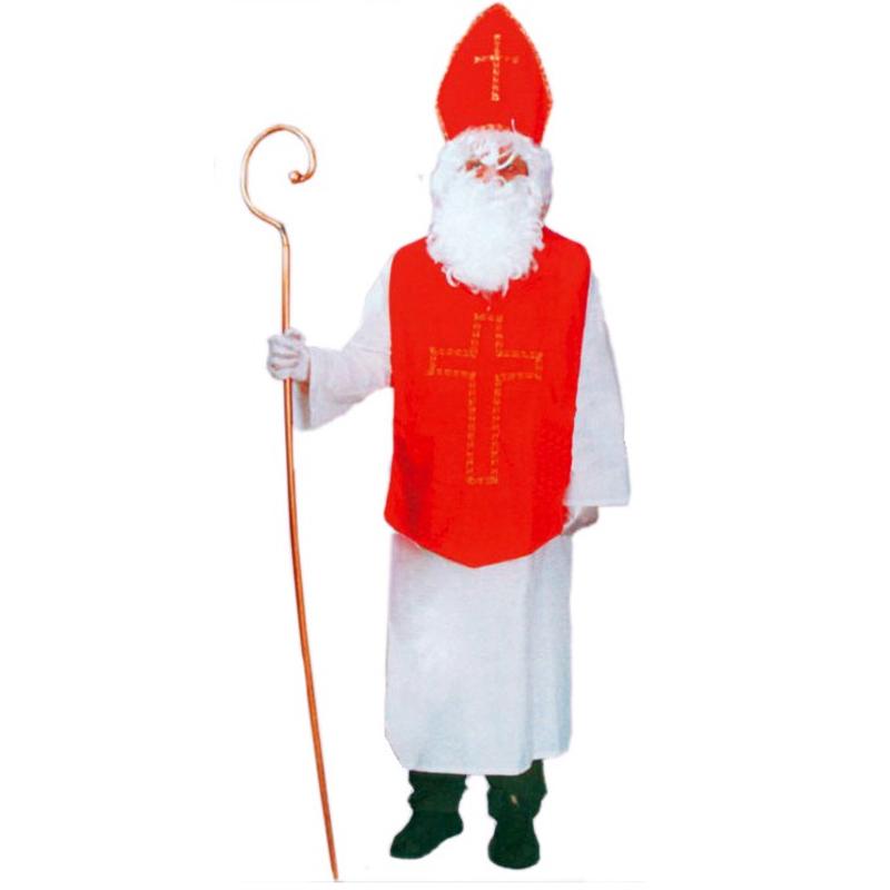 Kostým Mikuláše (obšitý kříž) vel. M-L (52/56)