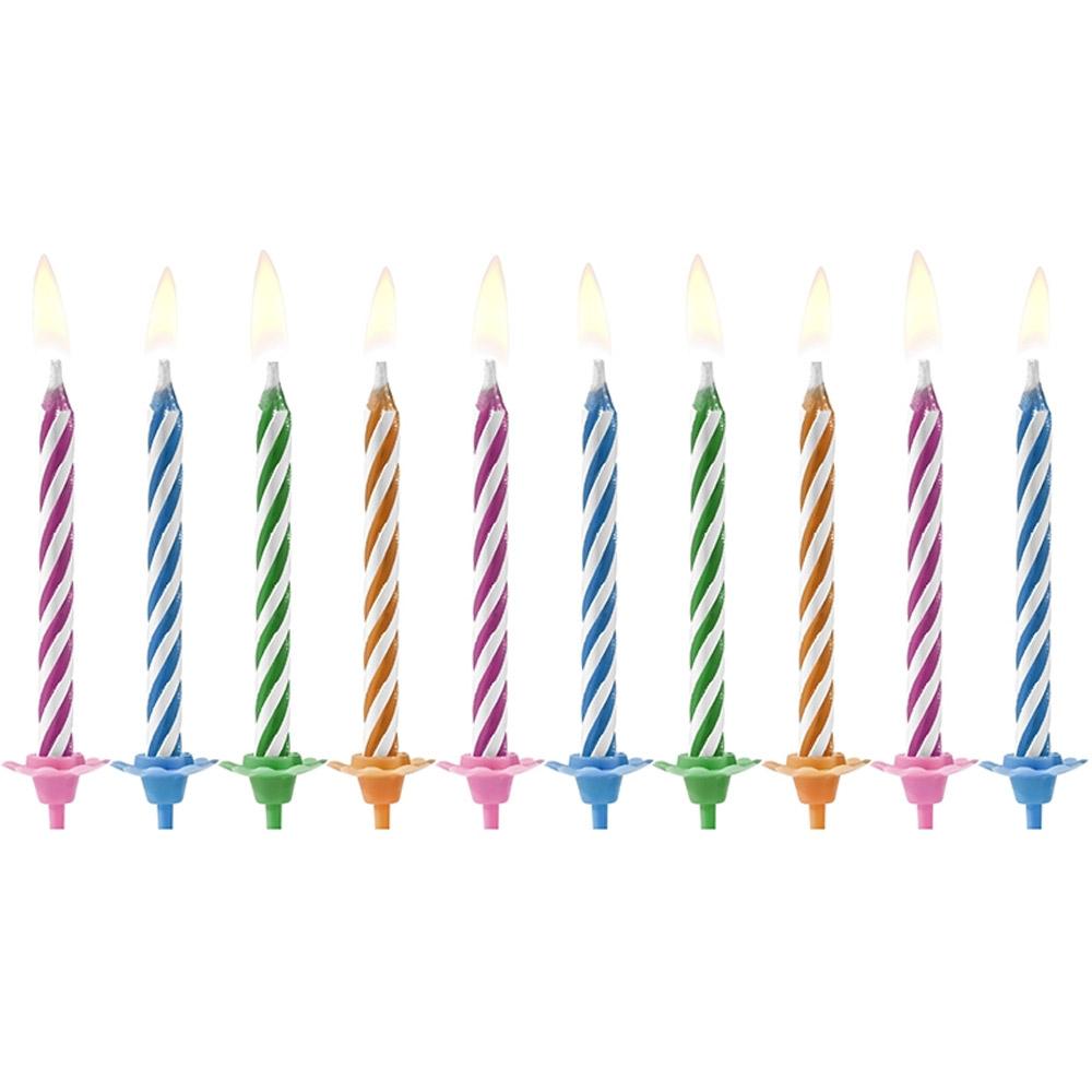 Svíčky nesfouknutelné - 10 ks
