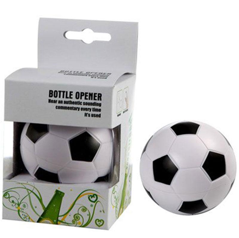 Akustický otvírák ve tvaru fotbalového míče