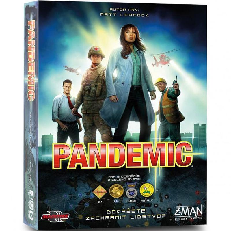 Z-Man Games Pandemic - kooperativní hra