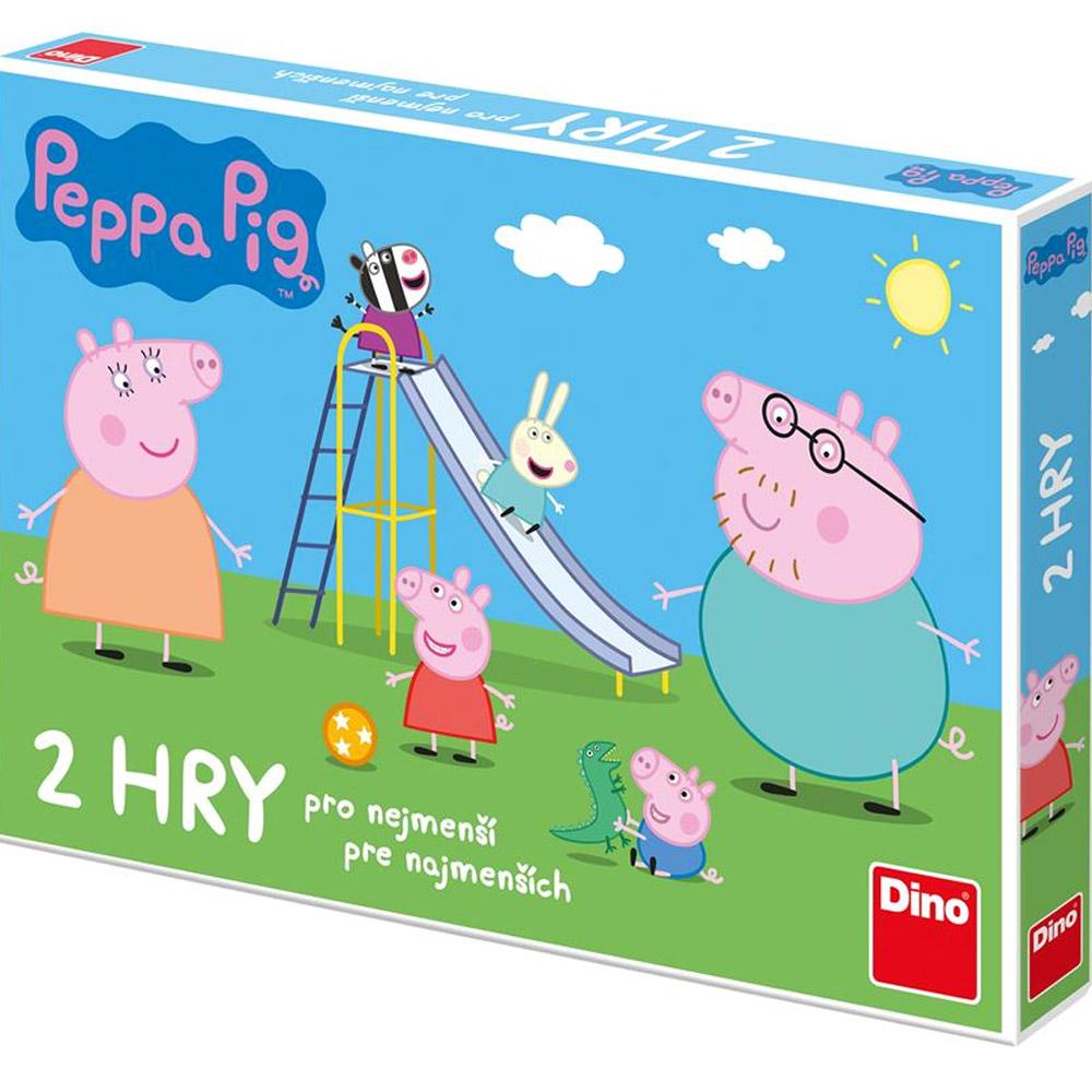 Peppa Pig - 2 hry pro nejmenší děti