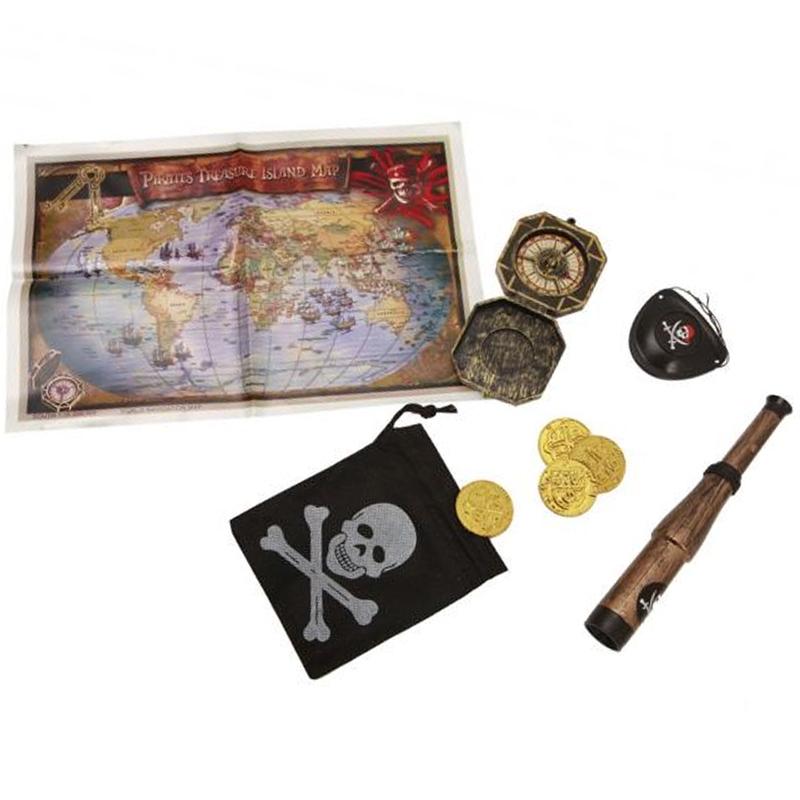 Pirátská sada s mapou Viving costumes