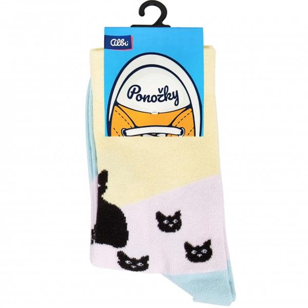 Ponožky - Kočky