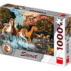 Puzzle KONĚ 1000 Secret Collection