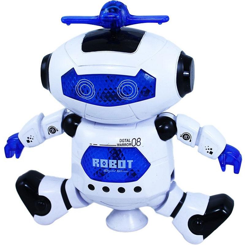 Robot BOBO tančící na baterie Rappa