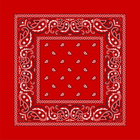 Šátek kovbojský Western - červený 540f90cc34