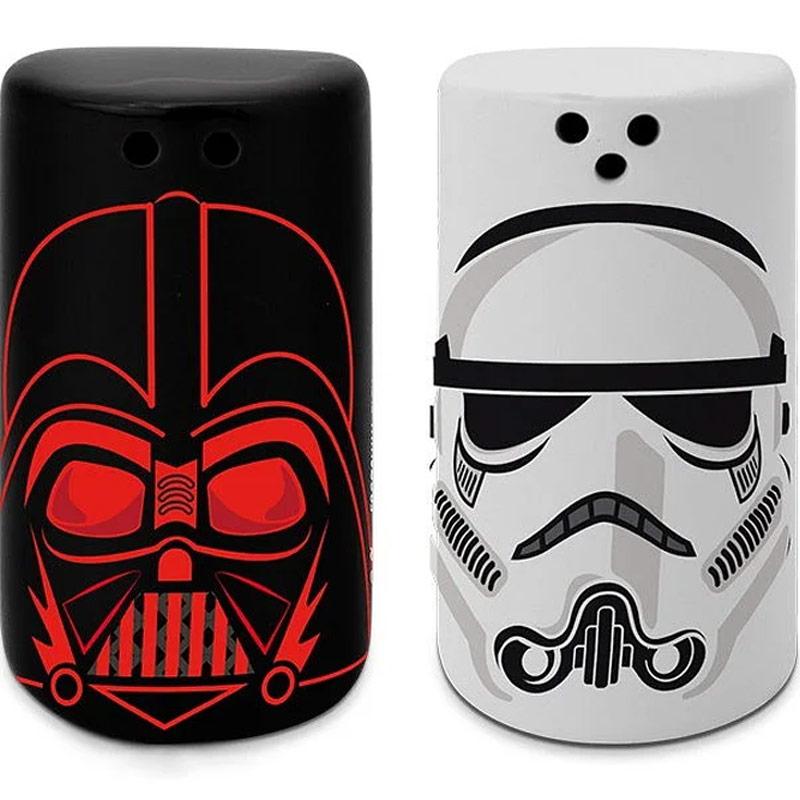 Solnička a pepřenka Star Wars - Vader & Trooper