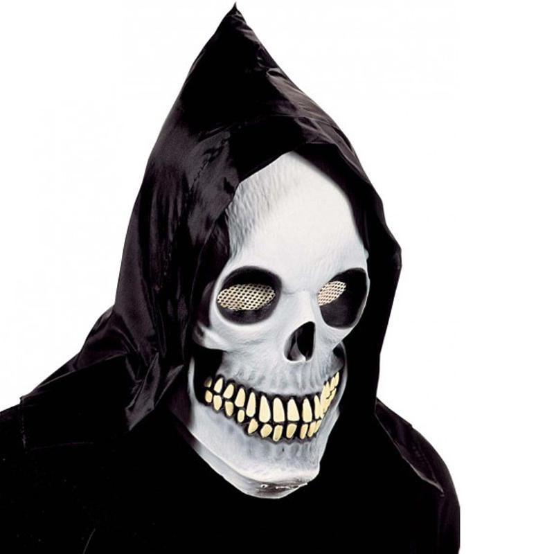 Maska - Svítící lebka s kápí