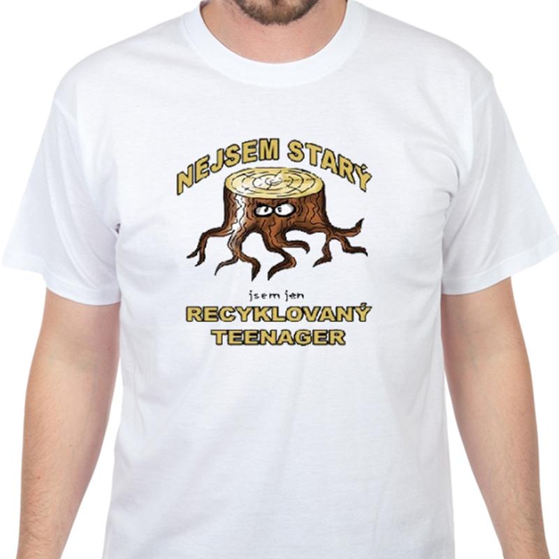 Tričko s vtipným potiskem - Nejsem starý