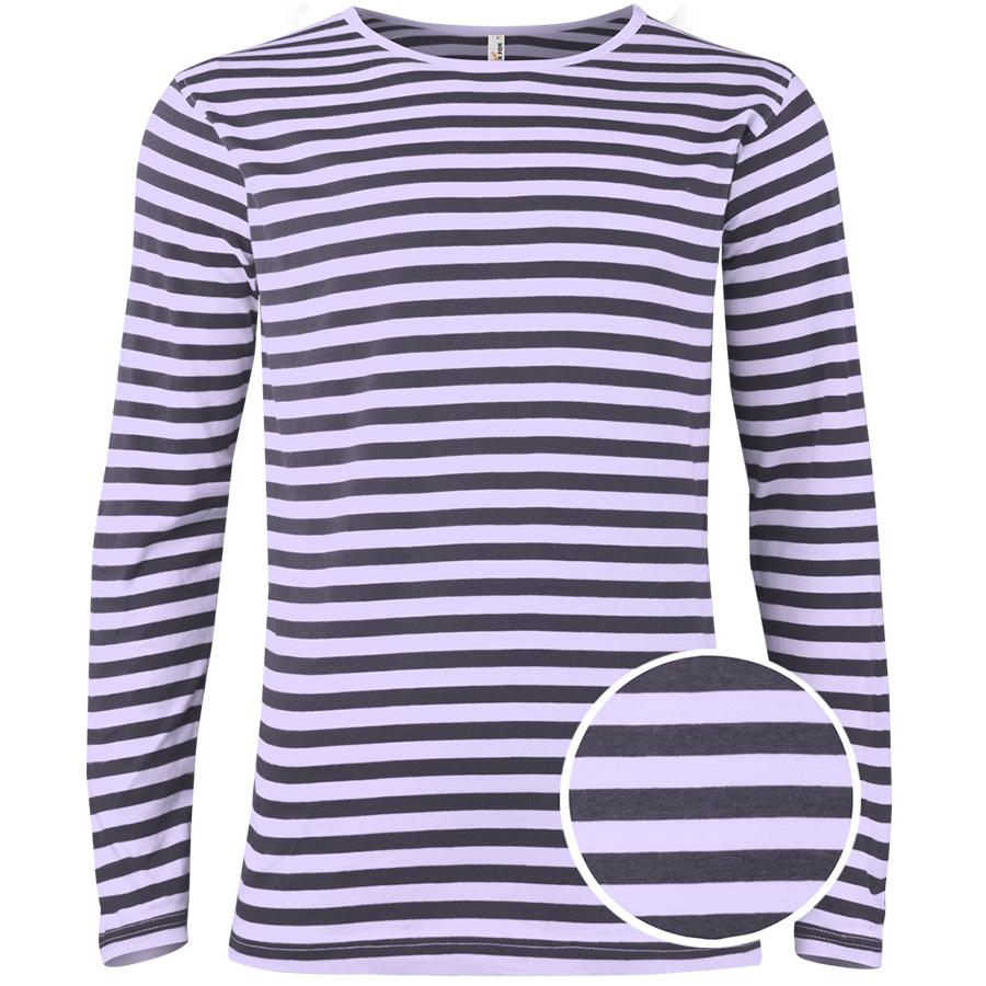 Pánské pruhované tričko William s dlouhými rukávy d0aeb0bff4