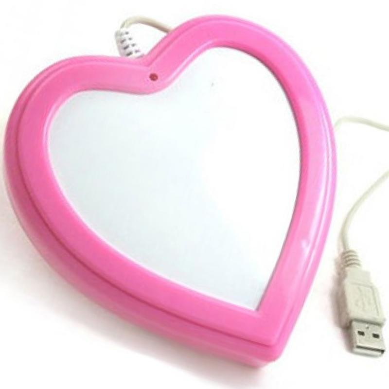 USB ohřívač nápojů - srdce
