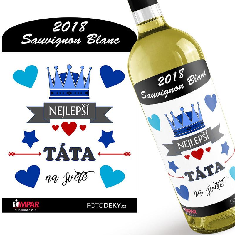 Bílé víno - Nejlepší táta na světě